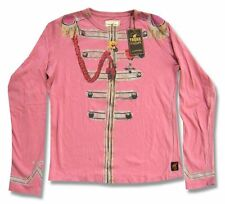 The Beatles Trunk LTD Lonely Hearts Kids Youth Pink L/S Shirt New Official