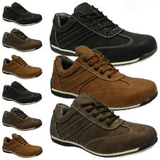 MENS CASUAL SPORTS GYM DECK PUMPS SMART RUNNING DRIVING SHOES TRAINERS PLIMSOLLS