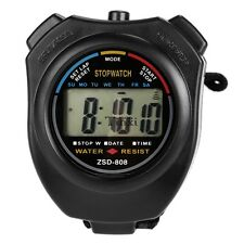 LCD Digital Sports Stop Watch Chronograph Time Date Alarm Timer Count TXCL01