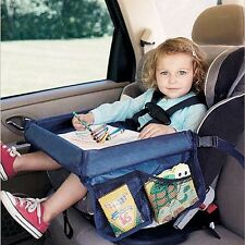Portable Child Snack Play Tray for Car Seat Plane and Buggy Toddler Travel Hot