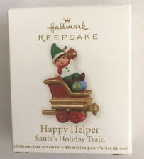 Hallmark HAPPY HELPER Santa's Holiday Train (2011)