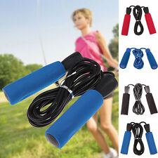 New Skipping Rope Fitness Jump Exercise Gym Jumping Training Foam Speed Handle