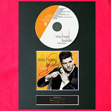 MICHAEL BUBLE Album Signed CD COVER MOUNTED A4 Autograph Repro Print 35