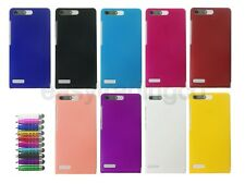 Hard Back Cover Case for Huawei Ascend G6 (3G) + Screen Protector + Stylus Pen
