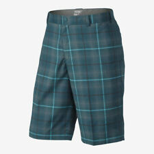 Nike Men Golf Tech Plaid Tartan Dri-FIT Tour Performance Shorts 509182-373 $70
