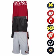 NCAA Assortment of Men's Performance Basketball Shorts Collection by Adidas