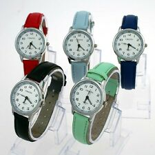 5 Color Learn To Time Kids Boy Girl Children's Watch Tutor Quartz Wristwatch U13