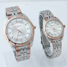 Lovers Casual Watches Waterproof Quartz Luxury Business Wristwatch Z42GOLD