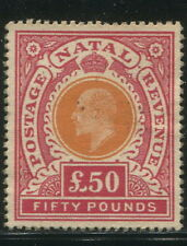 NATAL 1902 KEVII Unissued Revenue Essay £50 MNH Full Gum High Quality FANTASY