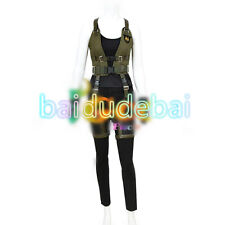 Cosplay Costume Resident Evil 6: The Final Chapter Alice Movie Game