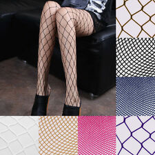 Women Sexy Fishnet Pattern Pantyhose Tights Punk Stockings Very Elastic