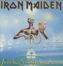 Iron Maiden vinyl LP album record Seventh Son Of A Seventh Son + Insert UK
