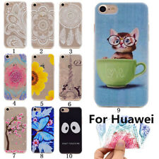 Soft Silicone Slim Clear TPU Rubber Gel Back Case Cover For Huawei phone TB