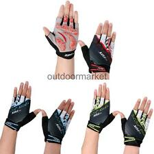 Cycling Outdoor Sports Half Finger Gloves Gel Padded Mountain Road Bike Mittens