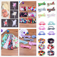 1/6Pcs Set Baby Girls Infant Lace Bow Headband Headwear hair Band Accessory Lots
