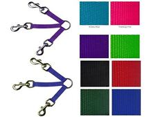 Dog 3 Way Coupler - Guardian Gear - 8 Colors, 3 Sizes