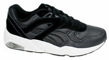 Puma Trinomic R698 Matt & Shine Black Mens Lace Up Trainers 359305 02 P