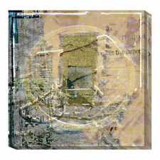 Global Gallery Coin Collage by Suzanne Silk Graphic Art Print on Canvas