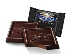 """86% DARK CHOCOLATE GHIRARDELLI SQUARES """"MIDNIGHT REVERIE"""" Lindt christmas gift"""