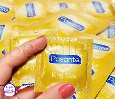 PASANTE Super King Size Condoms Large XXL Wider and Longer Variety pcs 50 100