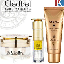 CLEDBEL Face Lift Program Gold Collagen Lifting Mask / Placenta Cream, Serum