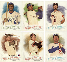 2016 Topps Allen and Ginter Baseball - Base Set Cards - Pick From Card #'s 1-200