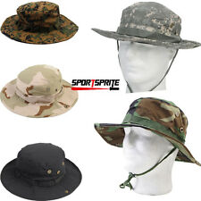 Outdoor Bucket Hat Boonie Cap Wide Brim Hat Hunting Fishing Cap Camo Unisex