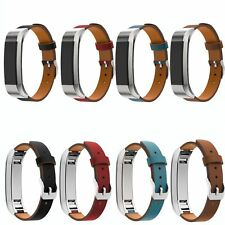 Luxury Leather Watch Band Strap Bracelet Wristband With Buckle For Fitbit Alta