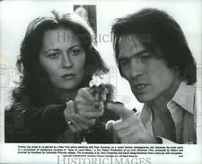 1978 Press Photo Tommy Lee Jones and Faye Dunaway in Eyes of Laura Mars.