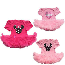 Toddlers Baby Infant Clothes Minnie Dress Girls Party Tutu Newborn Rompers Pants