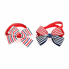 New Pet Dog Cat Bowtie 4th of July/July 4th Adjustable Bow Tie Necktie Collar