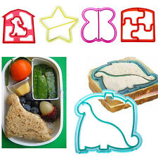 Kid Sandwich Toast Cutter Mold Cookies Cake Bread Biscuit Animal DIY Shape Mould