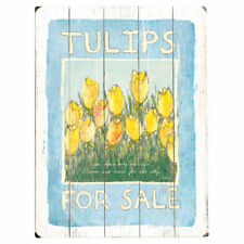 Artehouse LLC Tulips for Sale Drawing Print Multi-Piece Image on Wood