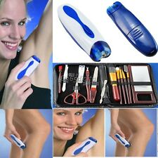 ELECTRIC TWIZZE WIZZIT TWEEZERS HAIR REMOVER REMOVAL EPILATOR FOR ANYONE