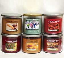 YANKEE CANDLE Medium 12.5 oz TUMBLER JAR CANDLES 2 Wick - New & Retired CHOICES