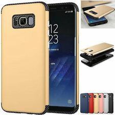 Hybrid Shockproof Slim Armor Defender Case Cover For Samsung Galaxy S8 / S8 Plus