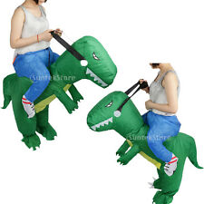 Adult Kid Gift Inflatable T-REX Dinosaur Halloween Novelty Fancy Costume Outfit