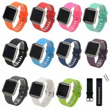 Silicone Rubber Replacement Watch Band Strap Watchband For Fitbit Blaze Watch