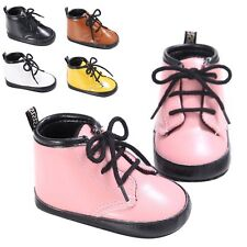 0~12M Baby Infant Boys Girls Martin Boots Prewalker Soft Sole Shoes Fashion