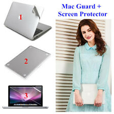 Full Body Skin Cover Sticker Guard + HD Screen Protector For Apple Mac Pro Air