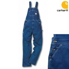Carhartt Overalls Bib Work Trousers Pants Workwear Mount Industry NEW