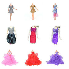 Pop Fashion Handmade Clothes Dress For Barbie Doll Different Style Nice ATAU