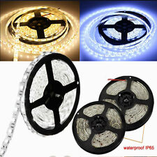 3528 5050 5630 SMD 5M 300/600 LED Non/Waterproof SMD Flexible Strip Light 12V