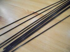 CARBON FIBRE PUSH RODS - 4 x PIECES  - 2mm x 100mm