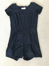 Jack Wills Play suit 8 Navy Cut Out Back