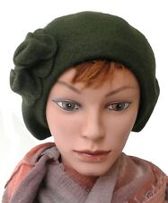 Beret Ladies hat Wool basque cap with Applications Choice of colours French cap