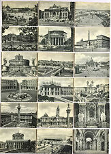VINTAGE 1930's LOT OF 18 TOURIST PHOTO POSTCARDS OF ITALY ~ UNPOSTED