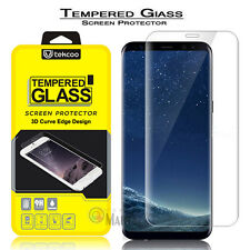 S-Tech 3D Full Tempered Glass Screen Protector For Samsung Galaxy S8+ Plus / S8