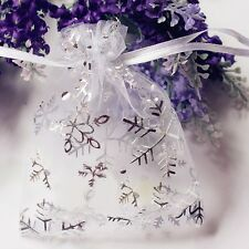 UK Wholesale 7x9cm Premium ORGANZA Wedding Favour GIFT BAGS Jewellery Pouches