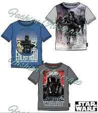 Star Wars The Clone Wars Darth Vader Boys Short Sleeve  6-12 years New Arrival